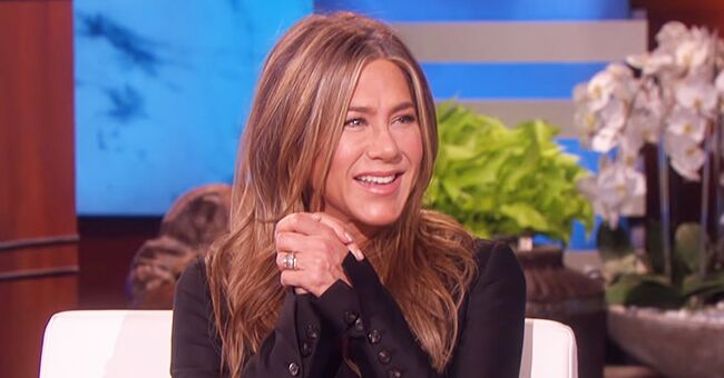 Jennifer Aniston Confirms to Ellen DeGeneres That She & Her 'Friends' Co-Stars Are Working on Something