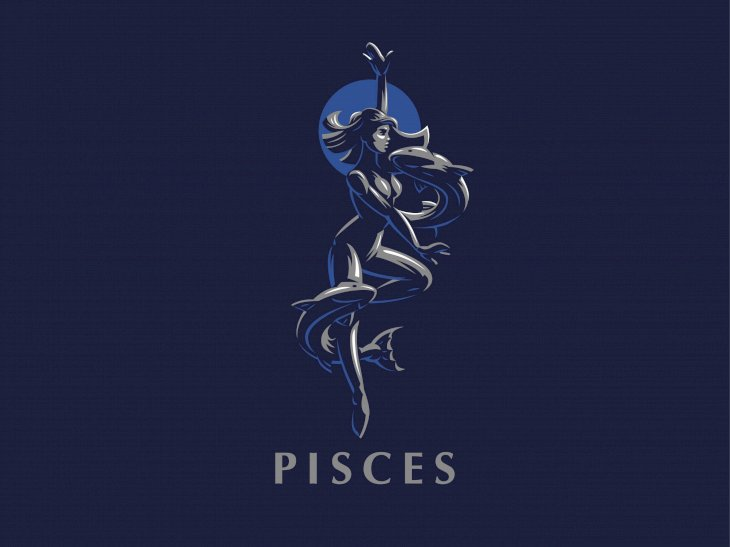 Pisces sign.  |  Image taken from: Shutterstock