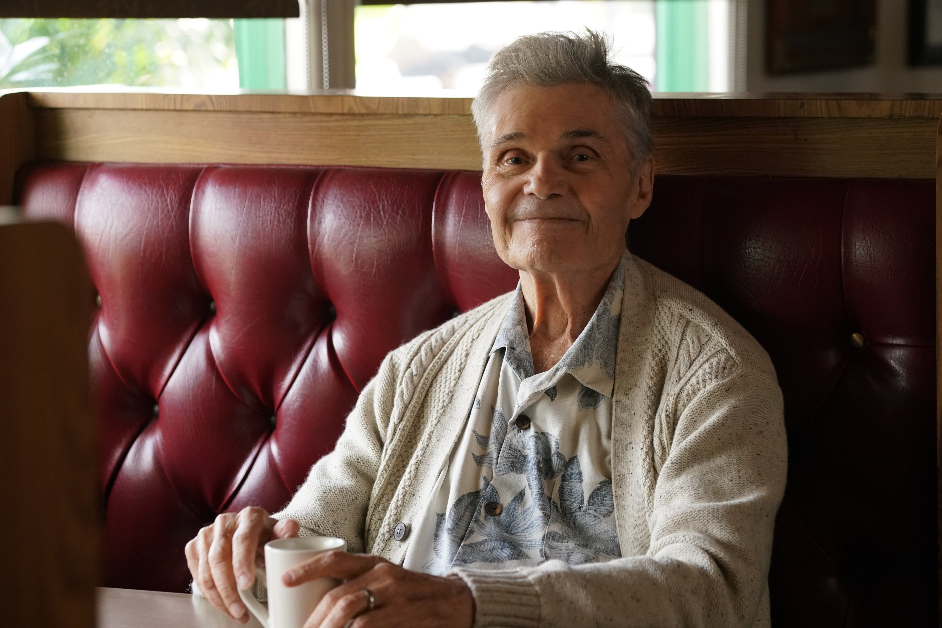 """Fred Willard during an episode of """"Modern Family"""" in December 2019. 