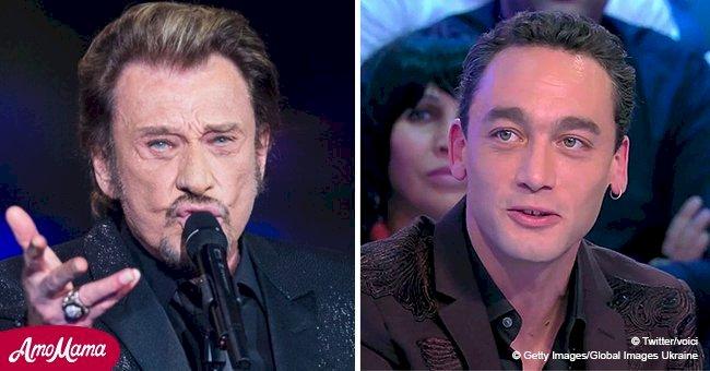 Le double vocal de Johnny Hallyday, Jean-Baptiste, raconte comment il a découvert son talent