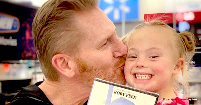 Rory Feek's Little Daughter Indy Looks like a Fairytale Princess in the Latest Photo