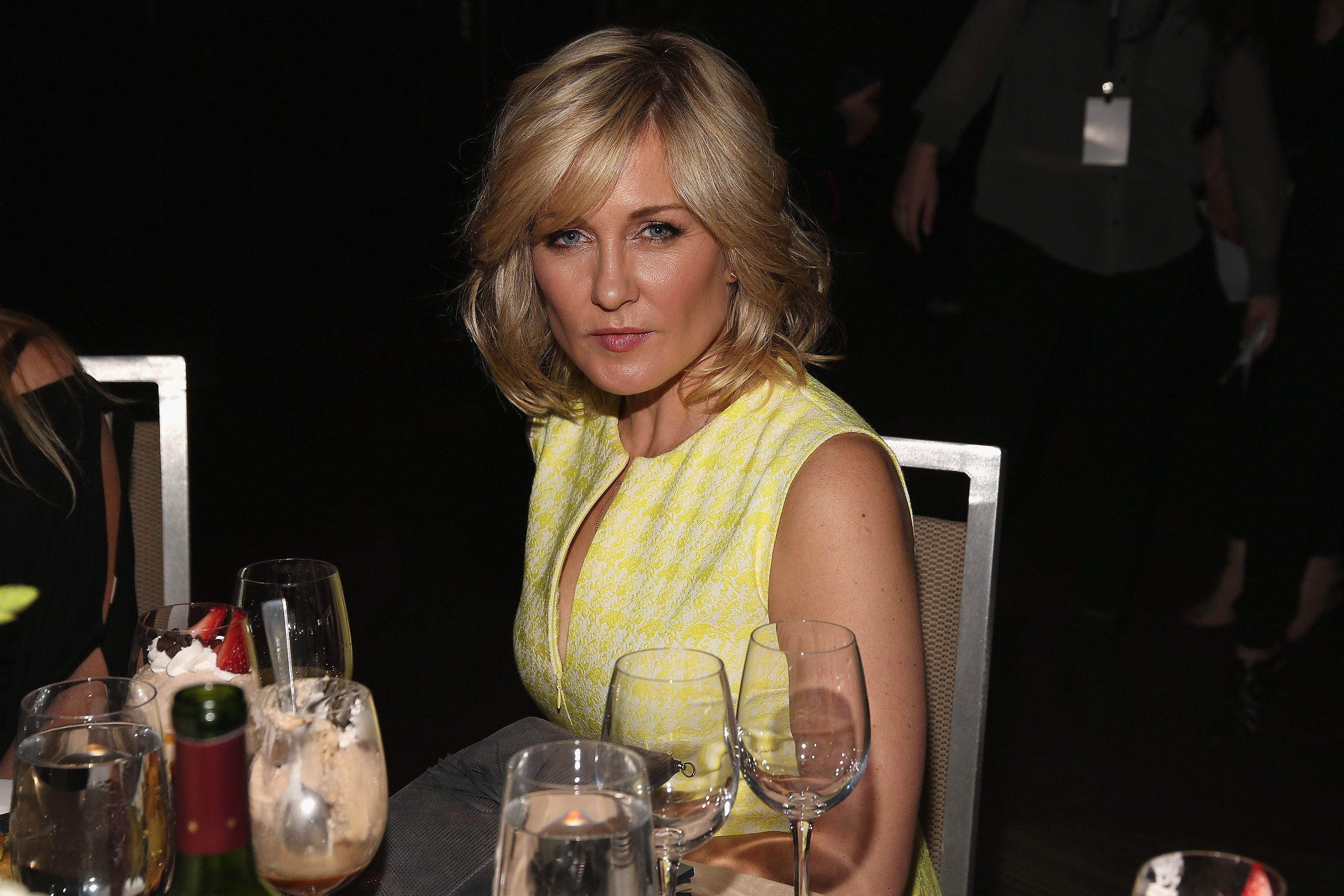 Amy Carlson attends the Federal Enforcement Homeland Security Foundation 2016 Ridge Awards at Sheraton Times Square on May 19, 2016 in New York City | Photo: Getty Images
