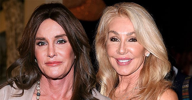 Caitlyn Jenner Poses in Black Gown with Ex-Wife Linda Thompson at Jane Seymour's Charity Event
