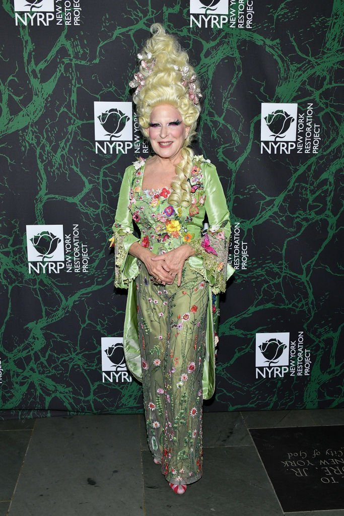 Bette Midler attends her 2017 Hulaween event benefiting the New York Restoration Project at Cathedral of St. John the Divine | Getty Images / Global Images Ukraine