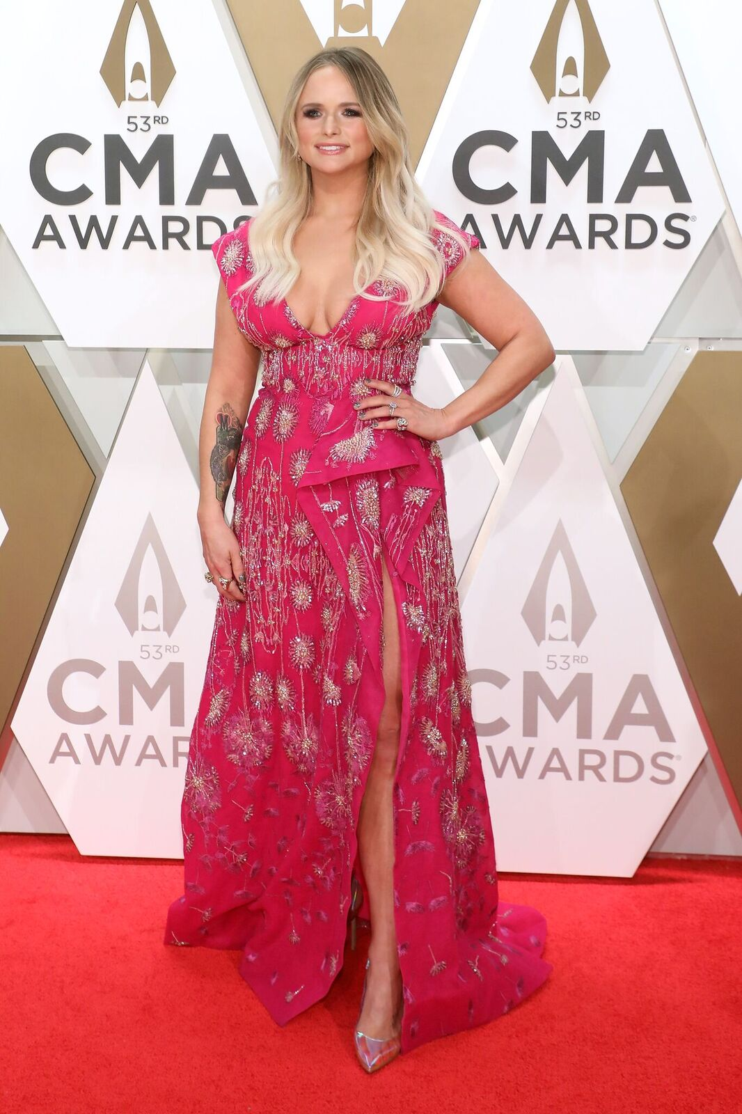 Miranda Lambert at the 53rd annual CMA Awards at Bridgestone Arena on November 13, 2019. | Photo: Getty Images