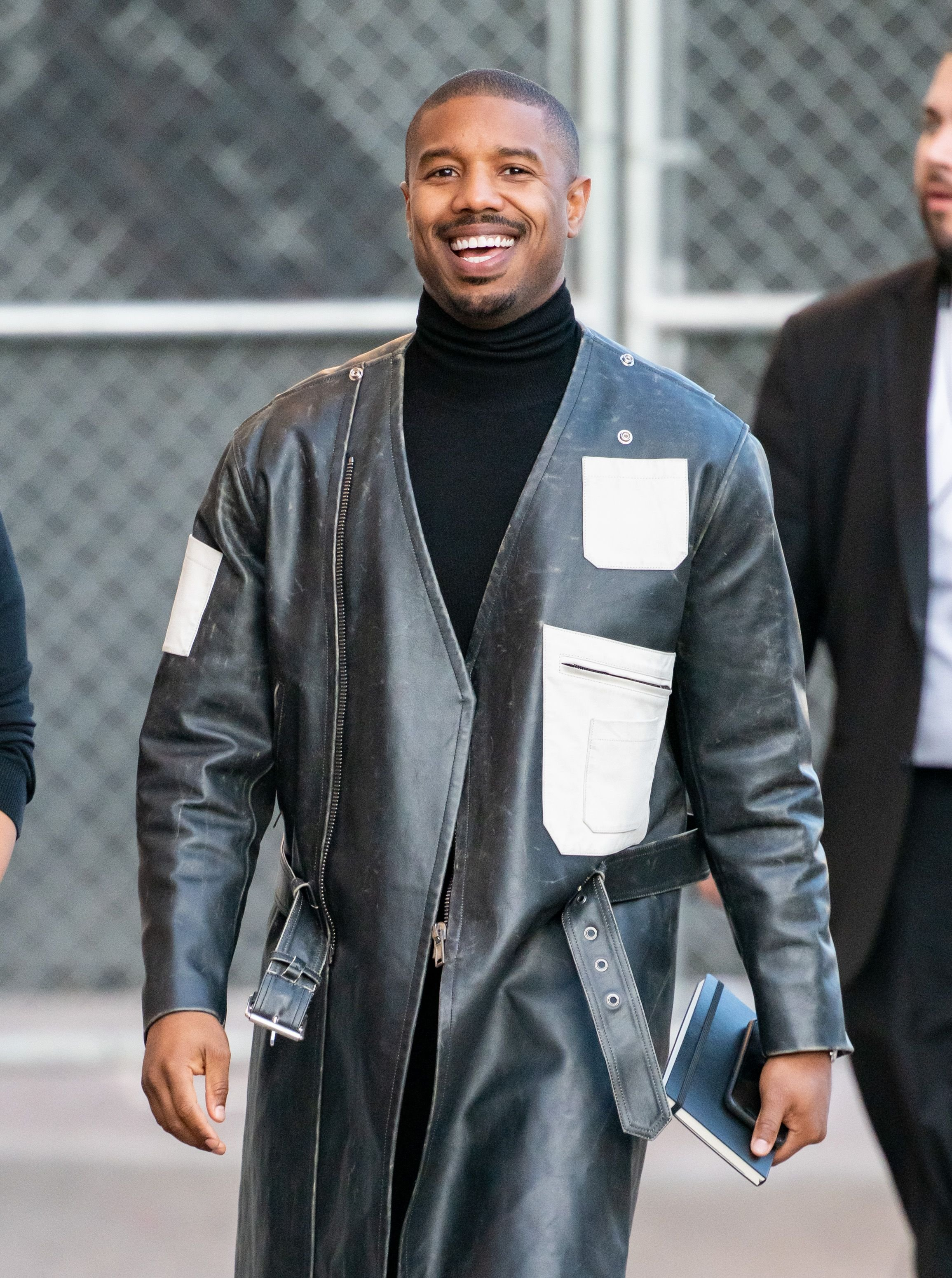 Actor Michael B. Jordan at 'Jimmy Kimmel Live' on January 09, 2020 in Los Angeles. | Photo: Getty Images