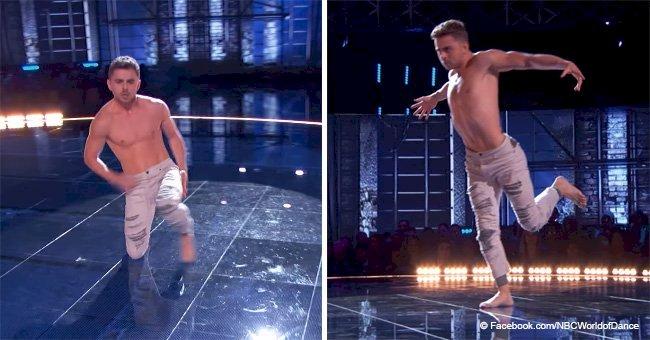 Junger Tänzer betritt Bühne und haut Richter mit seiner atemberaubenden Leistung von den Socken
