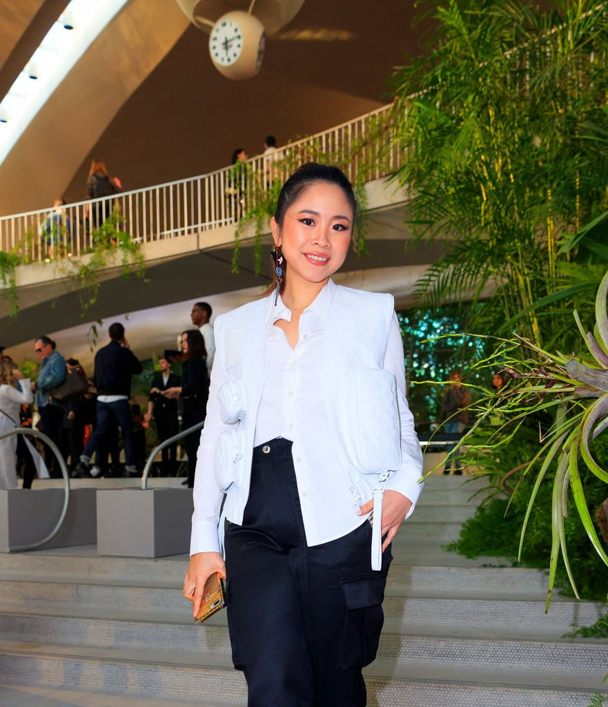 Nga Nguyen at Louis Vuitton Cruise 2020 Fashion Show on May 8, 2019 in New York City | Photo: Getty Images
