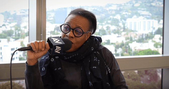 Marianne Jean-Baptiste during an interview with The A.V. Club | Photo: Youtube / The A.V. Club