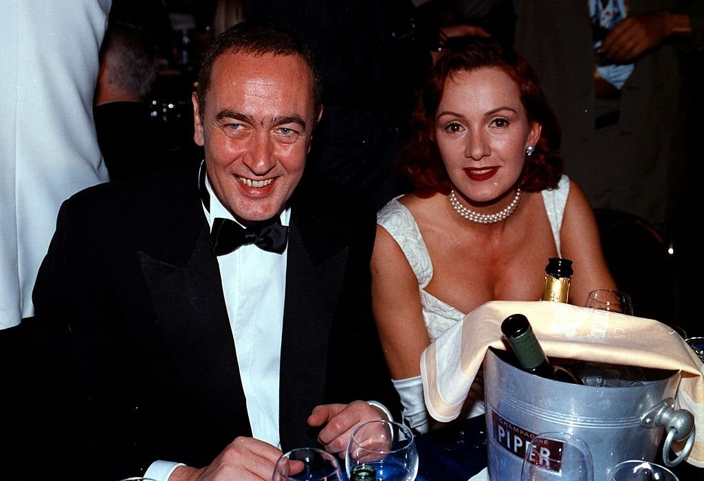 Bernd Eichinger und Katja Flint, Deutscher Filmball 1997 (Photo by Peter Bischoff/Getty Images) I Quelle: Getty Images