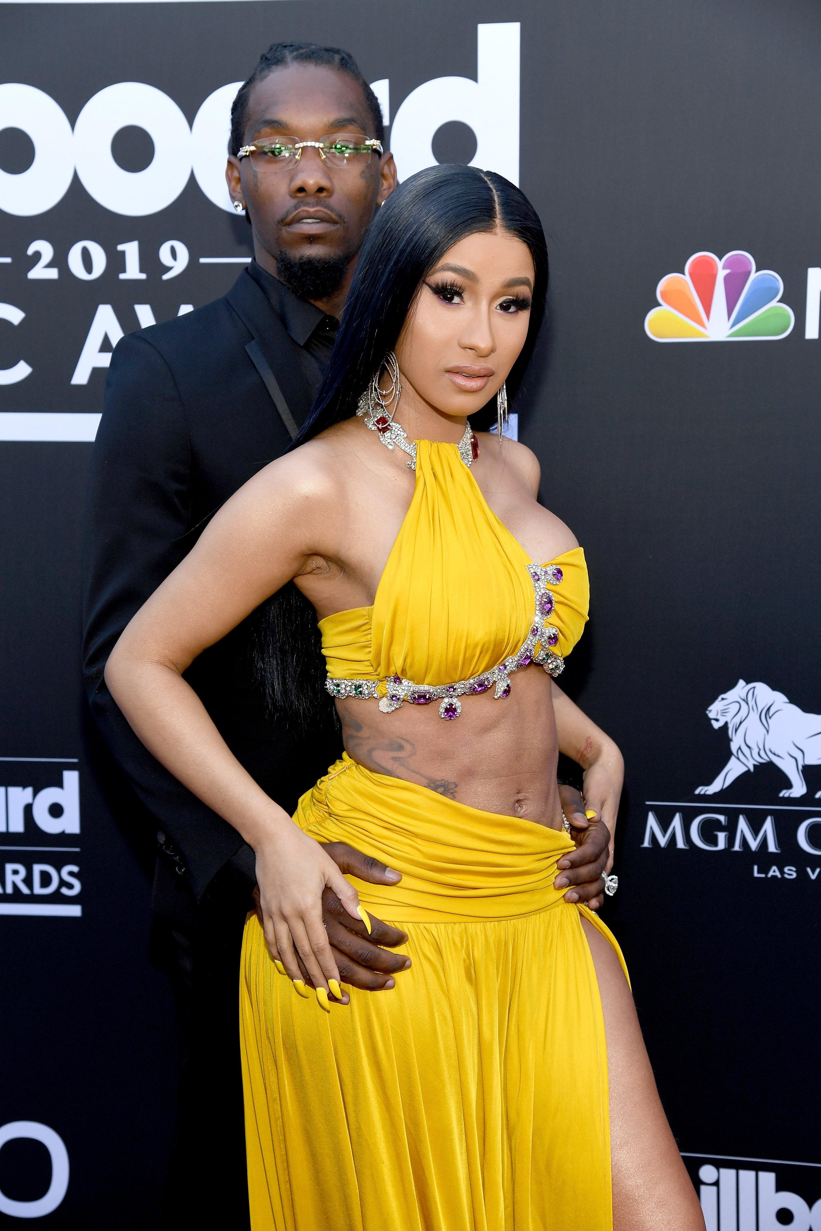 Offset and Cardi B at the 2019 Billboard Music Awards, 2019 in Las Vegas, Nevada   Source: Getty Images