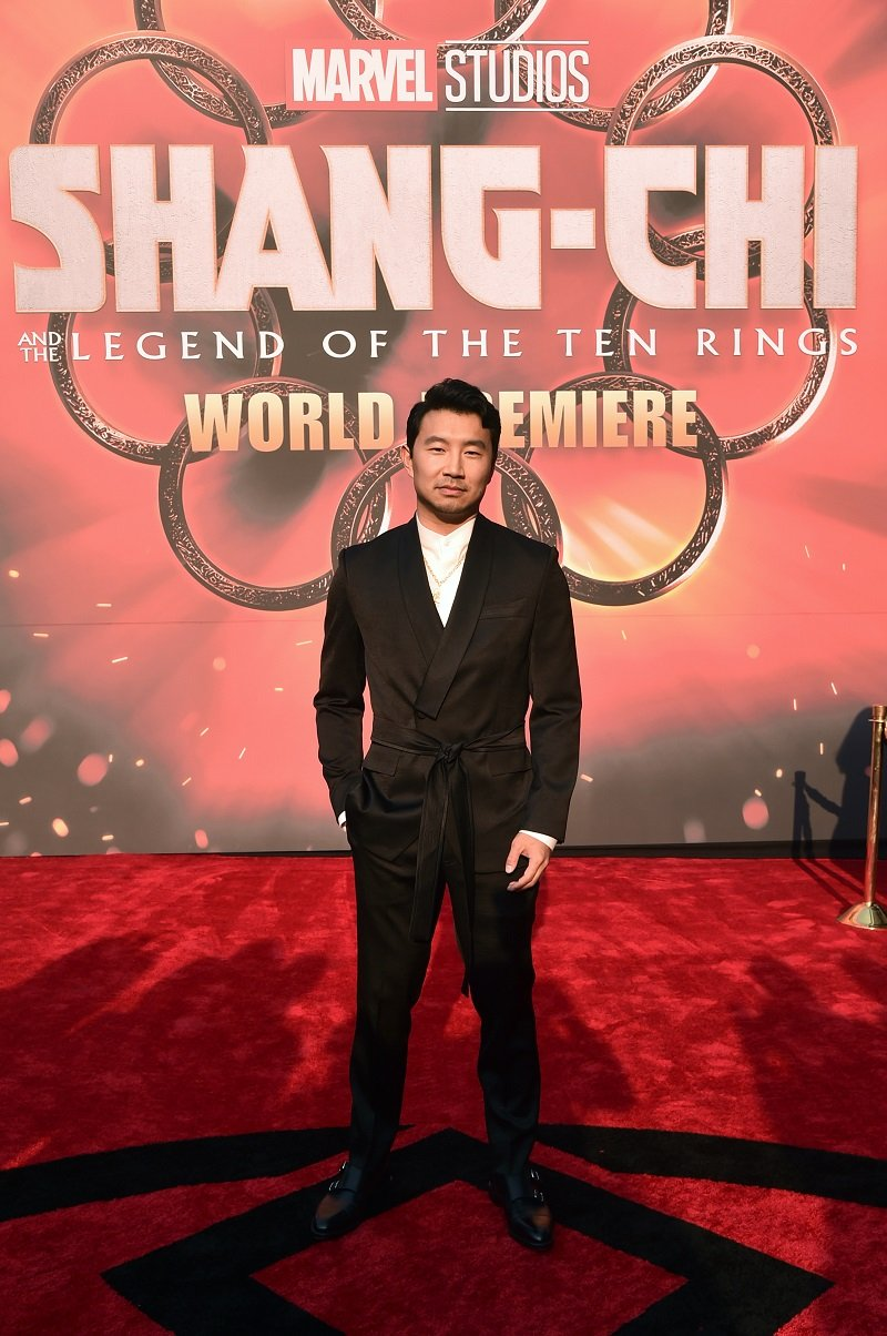 Simu Liu on August 16, 2021 in Los Angeles, California   Photo: Getty Images