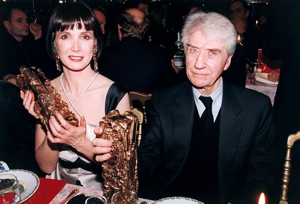 Alain Resnais et Sabine Azema aux Césars | Photo : Getty Images