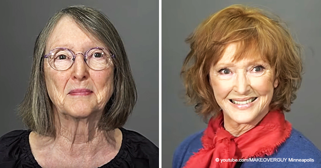 Frau, die ihren Sohn an Krebs verlor, erhält ein überraschendes Make-Over, um ihr zu helfen