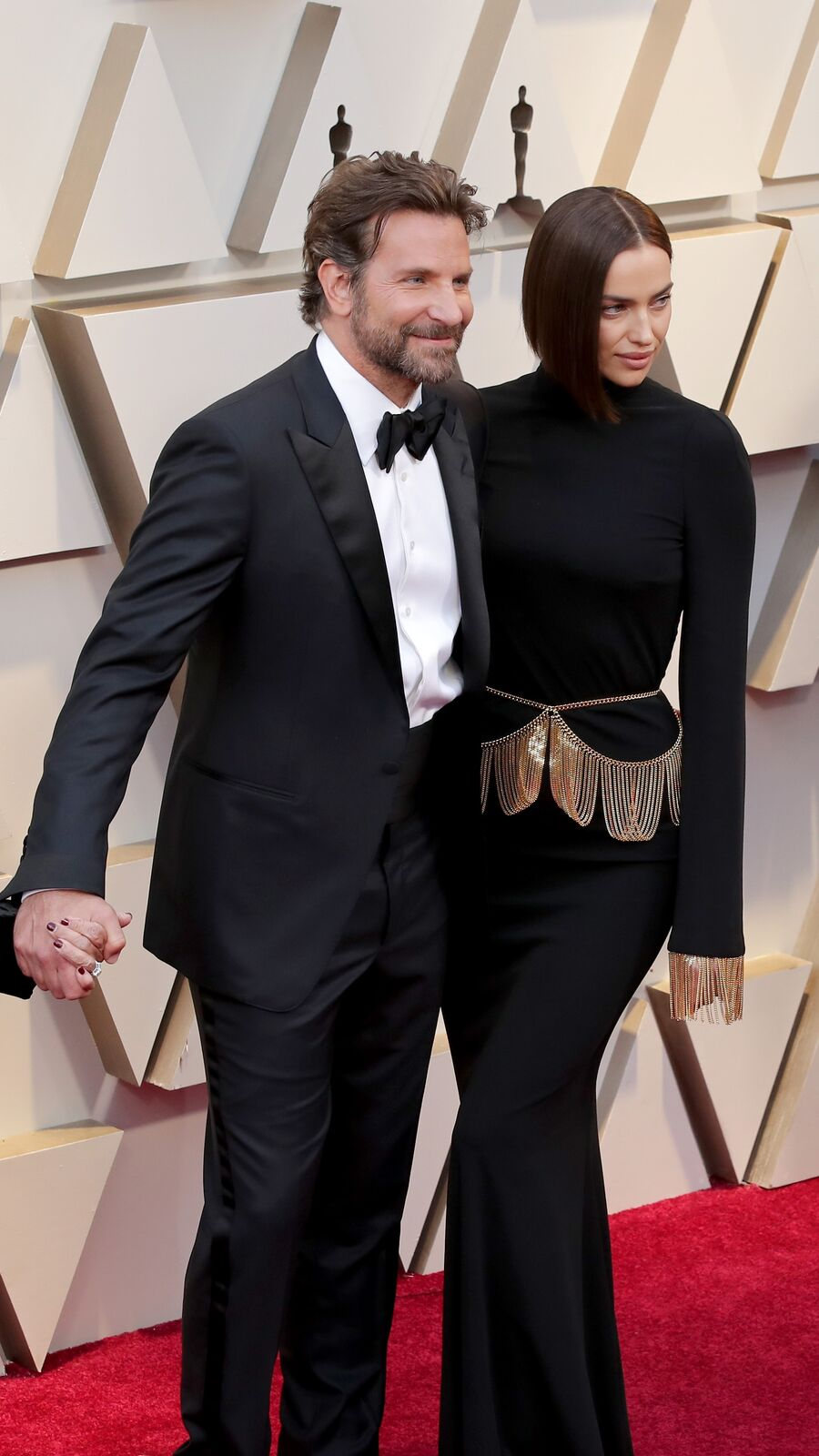 Bradley Cooper and Irina Shayk on February 24, 2019 in Hollywood, California | Photo: Getty Images