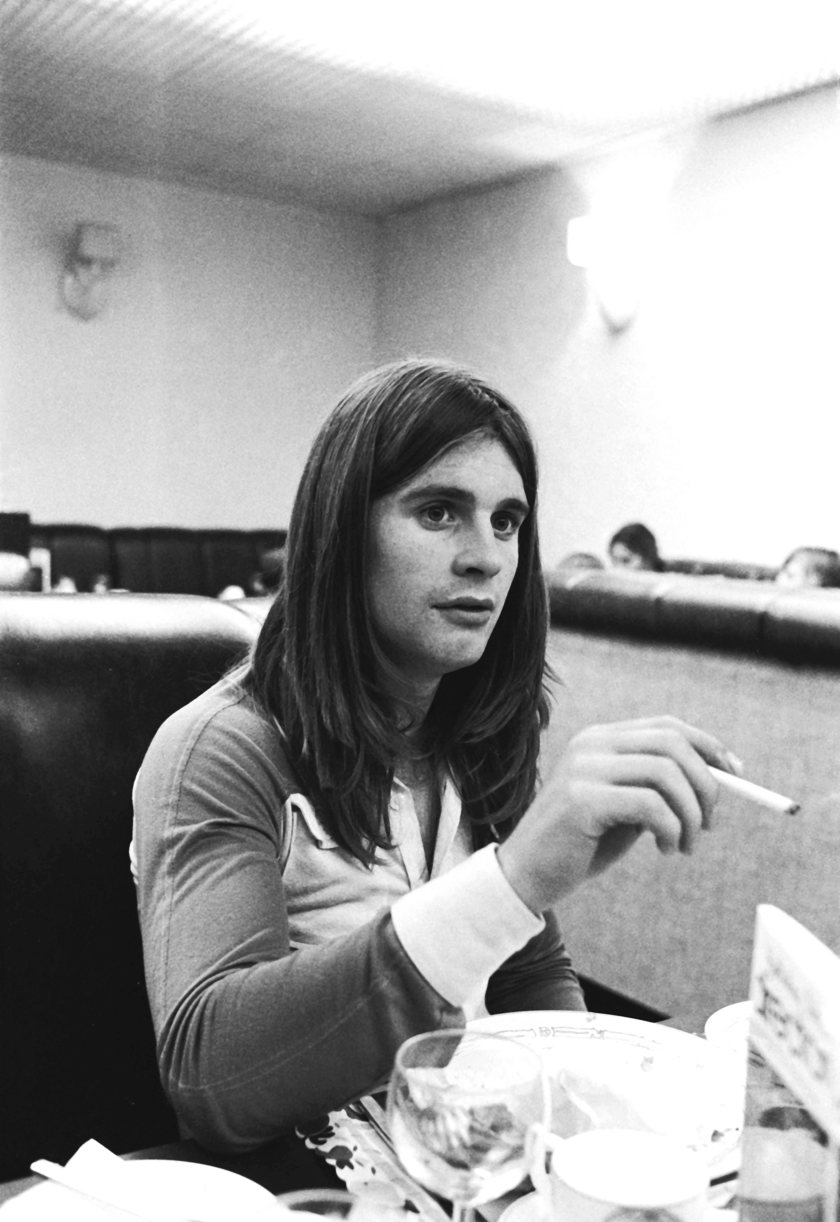 A young Ozzy Osbourne. | Photo: Getty Images