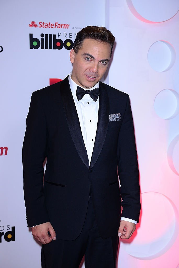 Cristian Castro en los Premios Billboard de la Música Latina en el Bank United Center, el 24 de abril de 2014 en Miami, Florida. | Foto: Getty Images