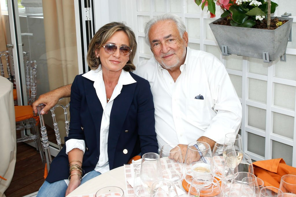 Dominique Strauss-Kahn et sa femme Myriam. | Source : Getty Images