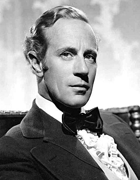 Foto publicitaria de Leslie Howard para 'Lo que el viento se llevó'. Año 1939 | Imagen: Wikimedia Commons