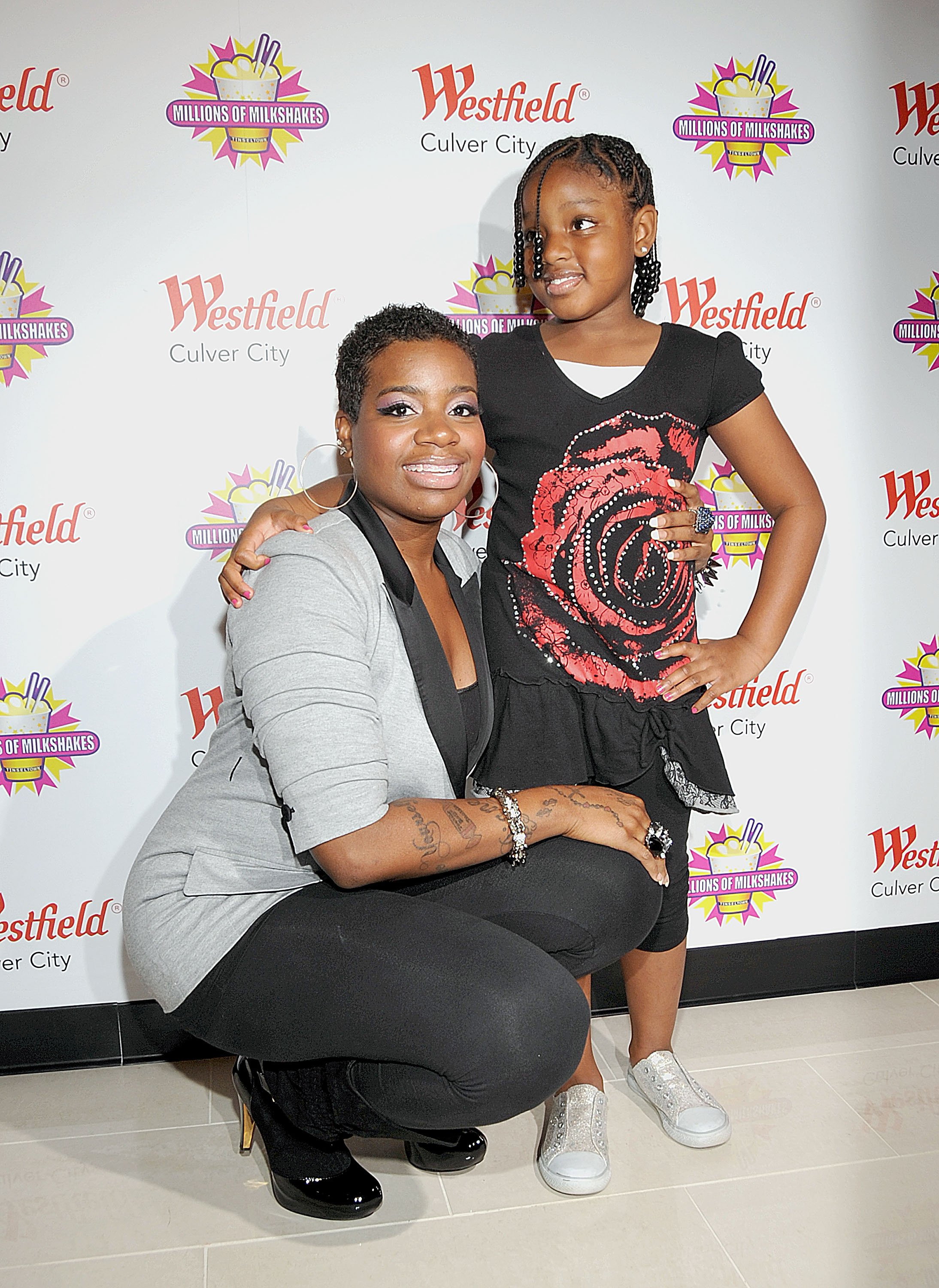 Fantasia Barrino and daughter Zion Barrino at Millions of Milkshakes in 2010 | Source: Getty Images