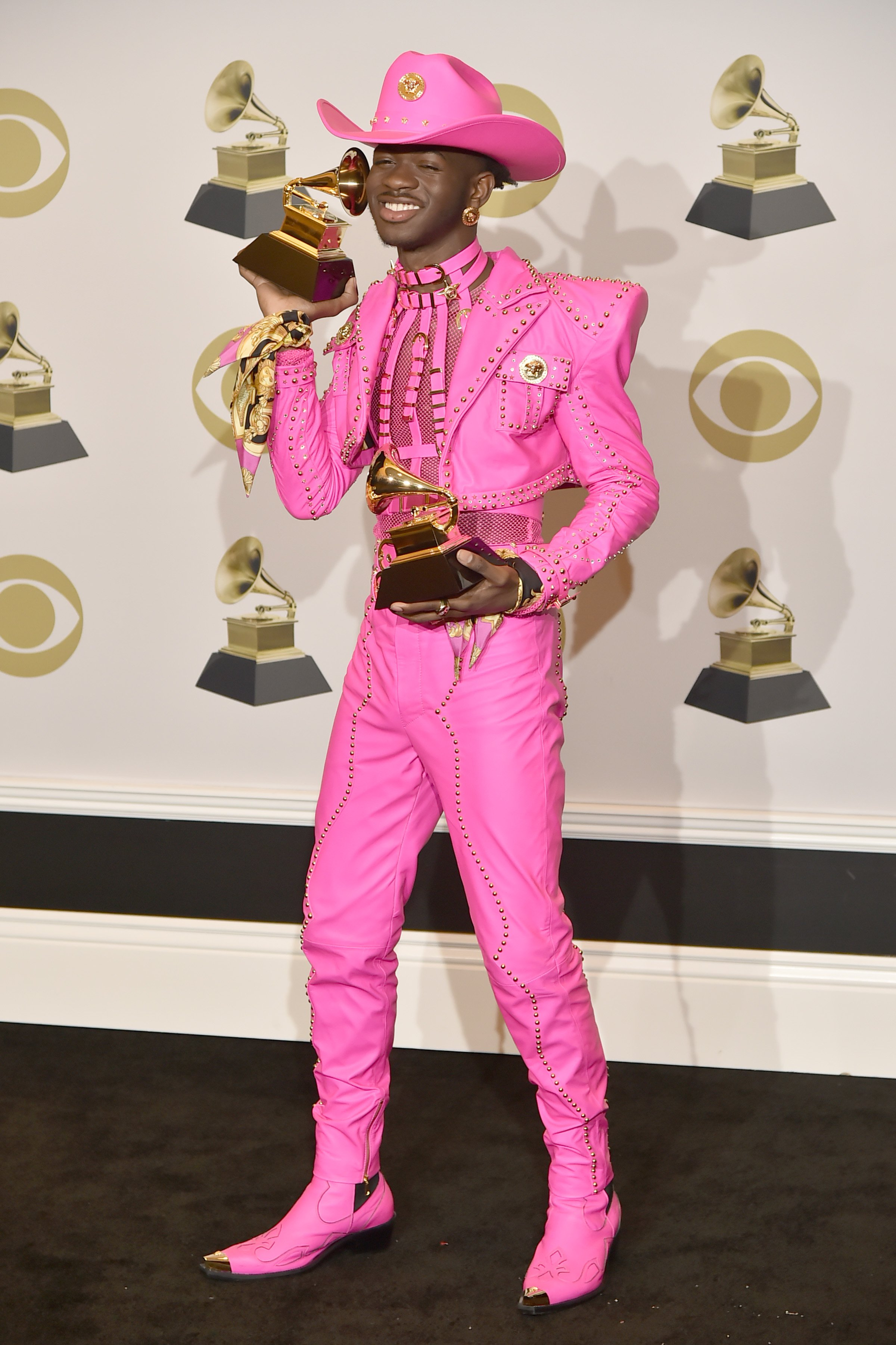 Lil Nas X at the 62nd Annual Grammy Awards on Jan. 26, 2020 in California | Photo: Getty Images