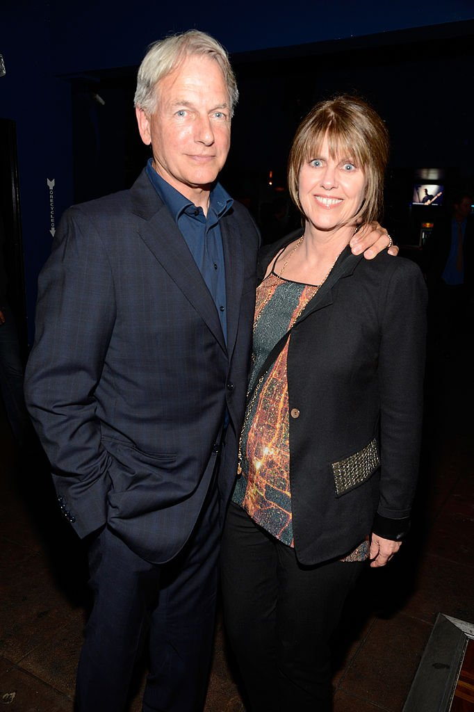 Actor Mark Harmon (L) and wife actress Pam Dawber attend the Rolling Stones performance at Echoplex on April 27, 2013 in Los Angeles, California. | Source: Getty Images