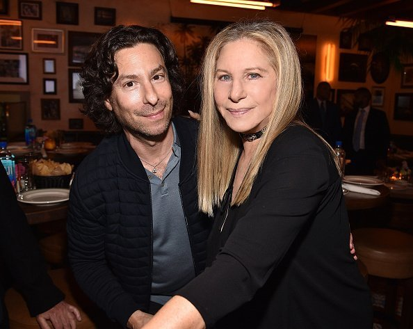 Jason Gould and Barbra Streisand attend Barbra Streisand's 75th birthday on April 24, 2017 | Photo: Getty Images