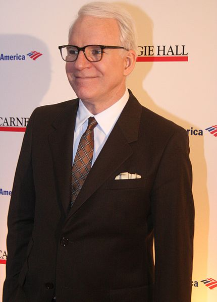 Steve Martin at the 120th Anniversary of Carnegie Hall in MOMA. | Source: Wikimedia Commons