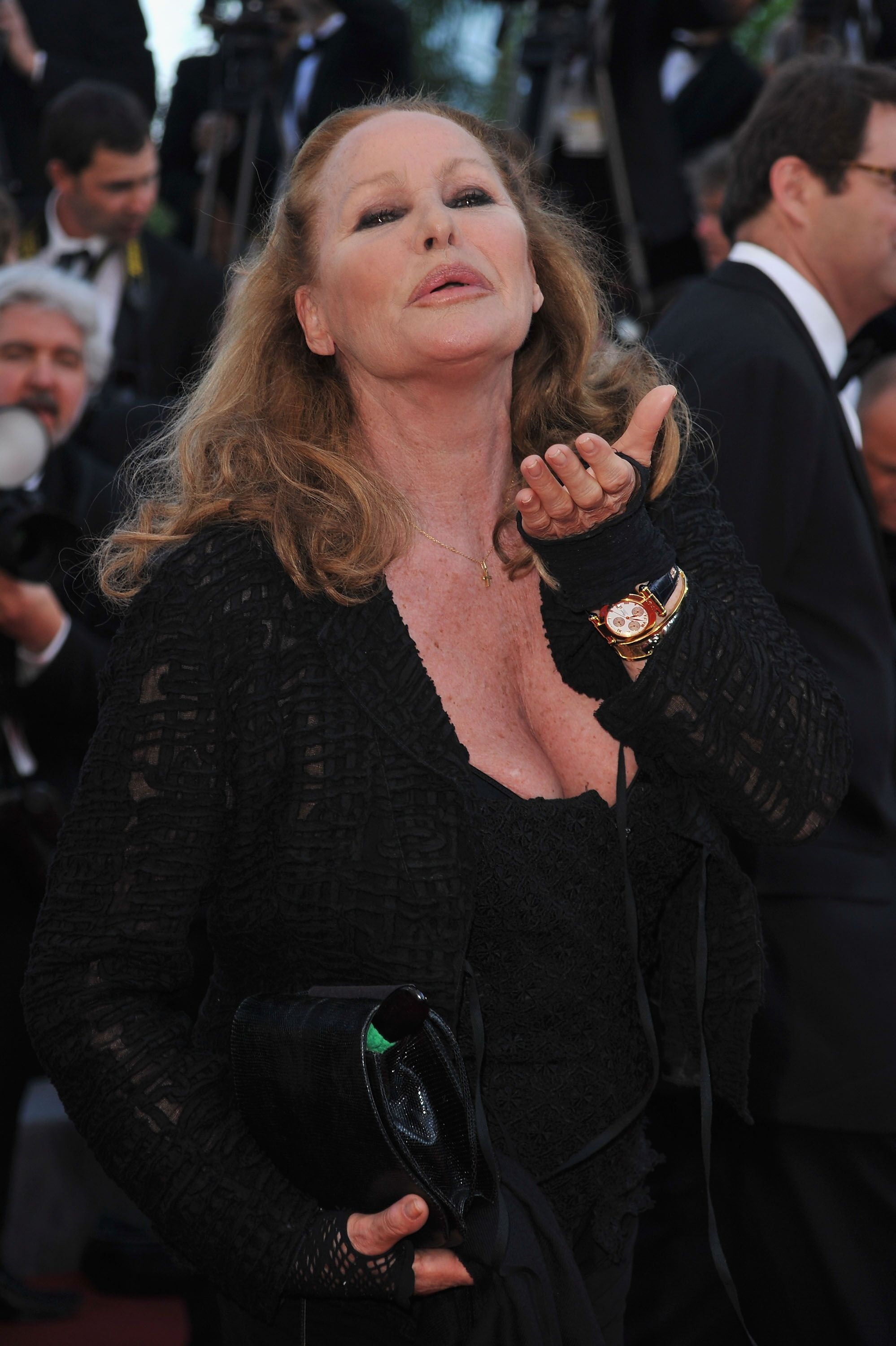 """Ursula Andress attends """"Biutiful"""" Premiere at the Palais des Festivals. 