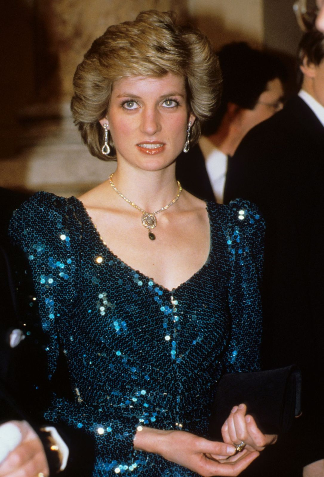 Princess Diana at a gala at the Vienna Burgh Theatre on  April 14, 1986   Photo: Getty Images