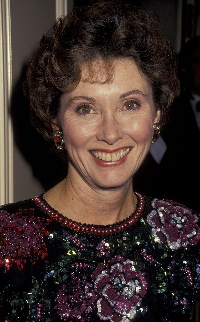 Elinor Donahue at Spirit of America Benefit Gala on December 13, 1990 | Photo: Getty Images