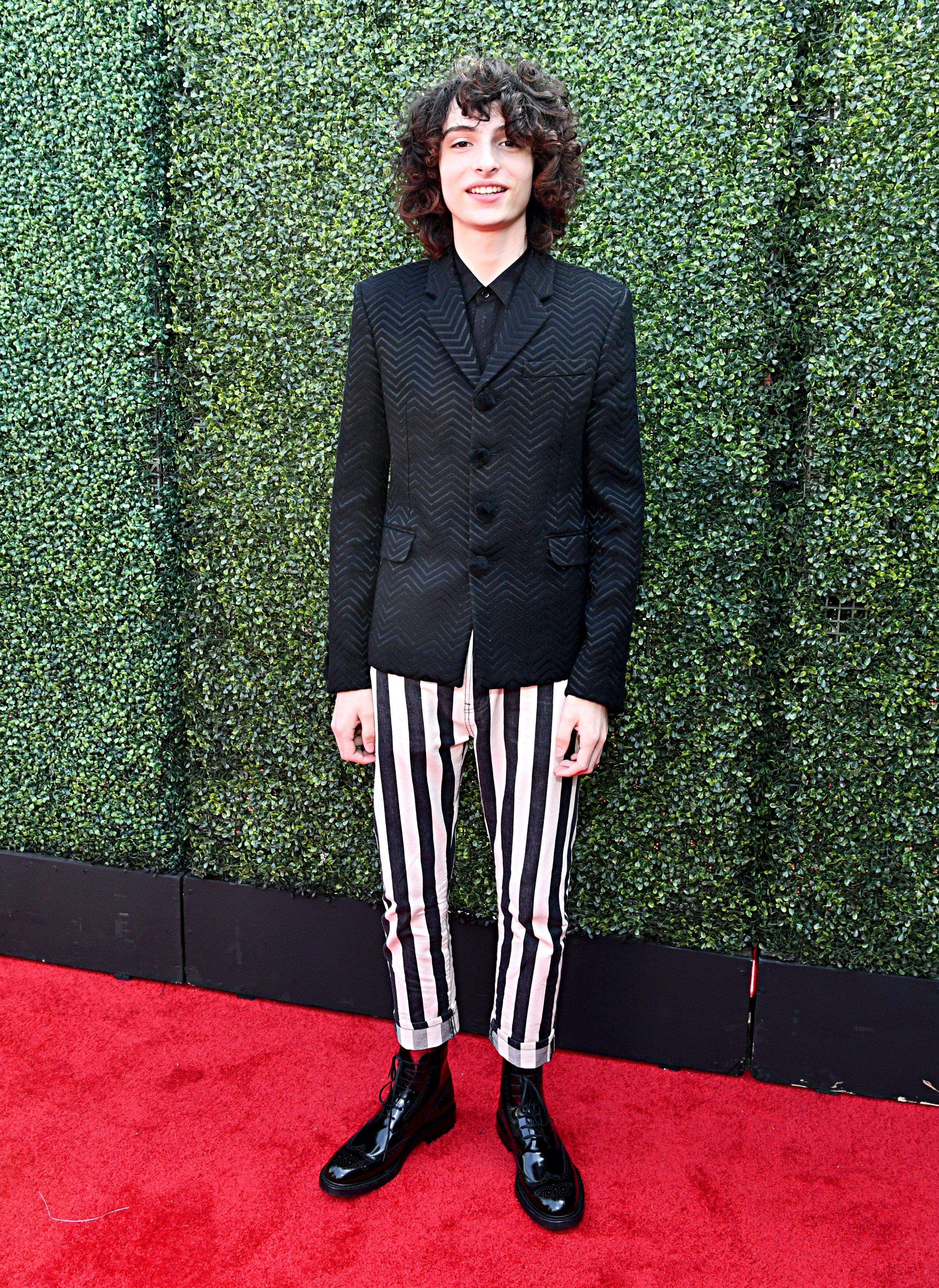 Finn Wolfhard at the red carpet of the 2019 MTV Movie and TV Awards on June 15, 2019 in Santa Monica, California. | Photo: Getty Images
