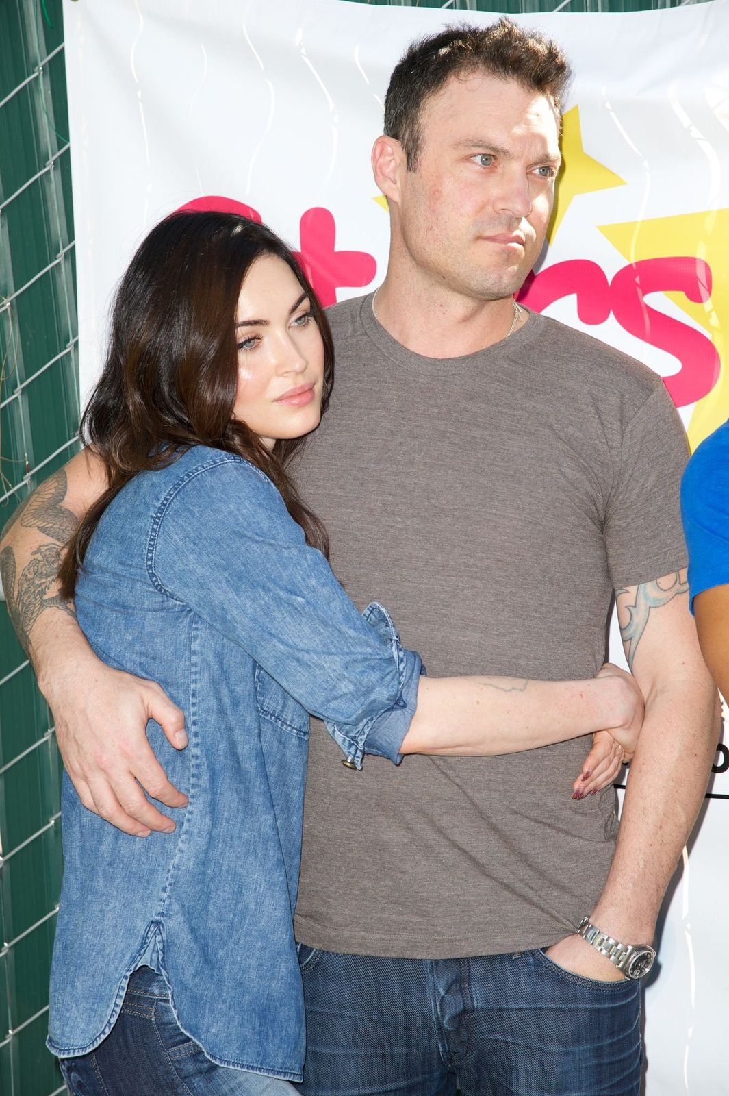 """Megan Fox and Brian Austin Green atThe Celebrity Source's Inaugural """"Stars 4 Smiles"""" event on September 16, 2014, in Torrance, California   Photo:Earl Gibson III/Getty Images"""