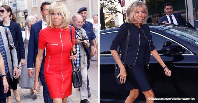 Brigitte Macron : le moment gênant quand la première dame a été critiquée à cause de sa jupe courte