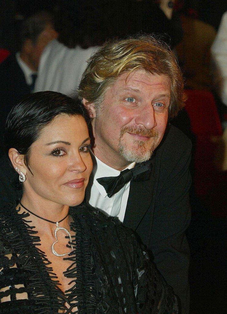Patrick Sébastien et sa femme Nana en 2003. l Source: Getty Images
