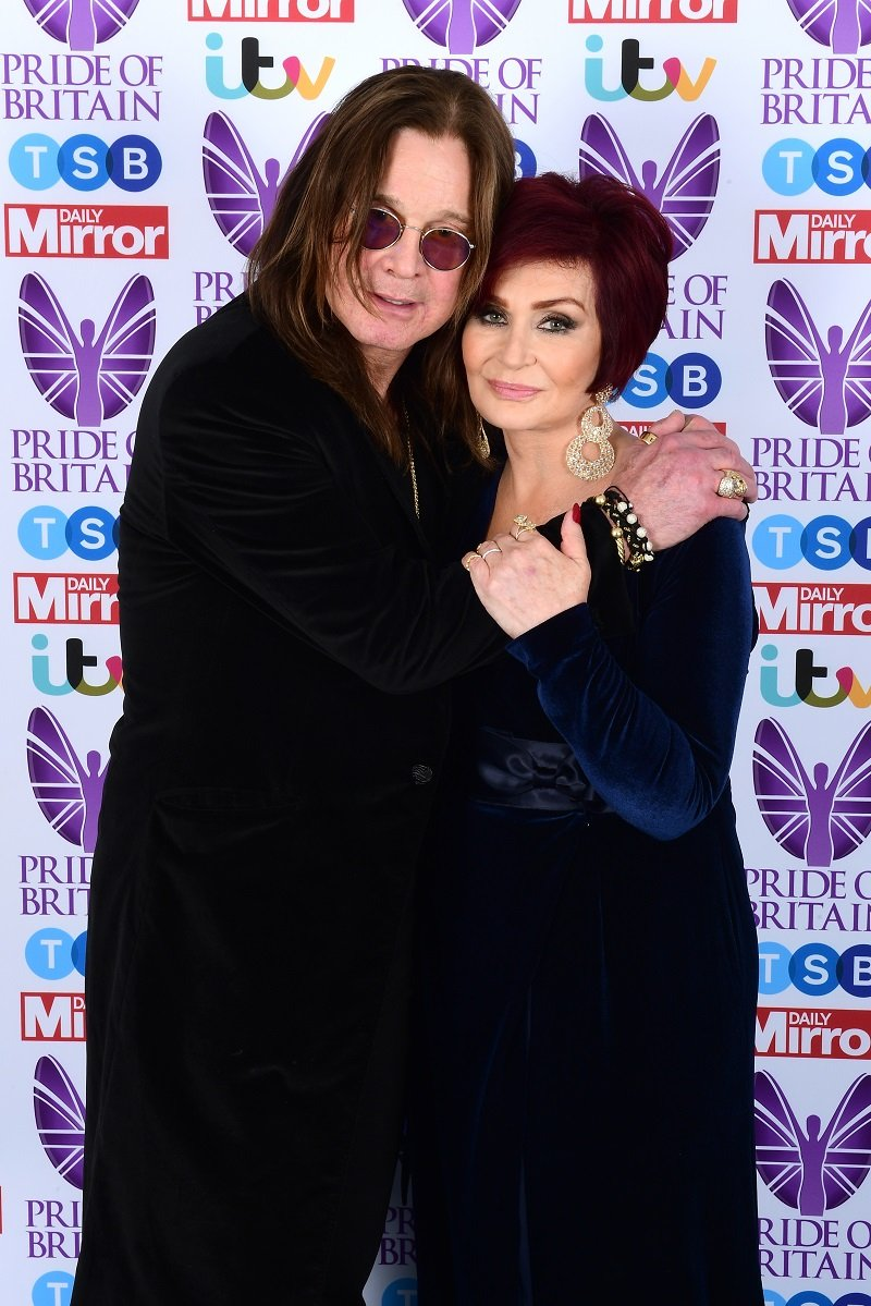 Sharon and Ozzy Osbourne at Grosvenor House, Park Street, London in October 2017   Photo: Getty Images