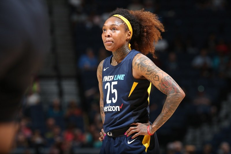 Cappie Pondexter on July 3, 2018 at Target Center in Minneapolis, Minnesota | Photo: Getty Images