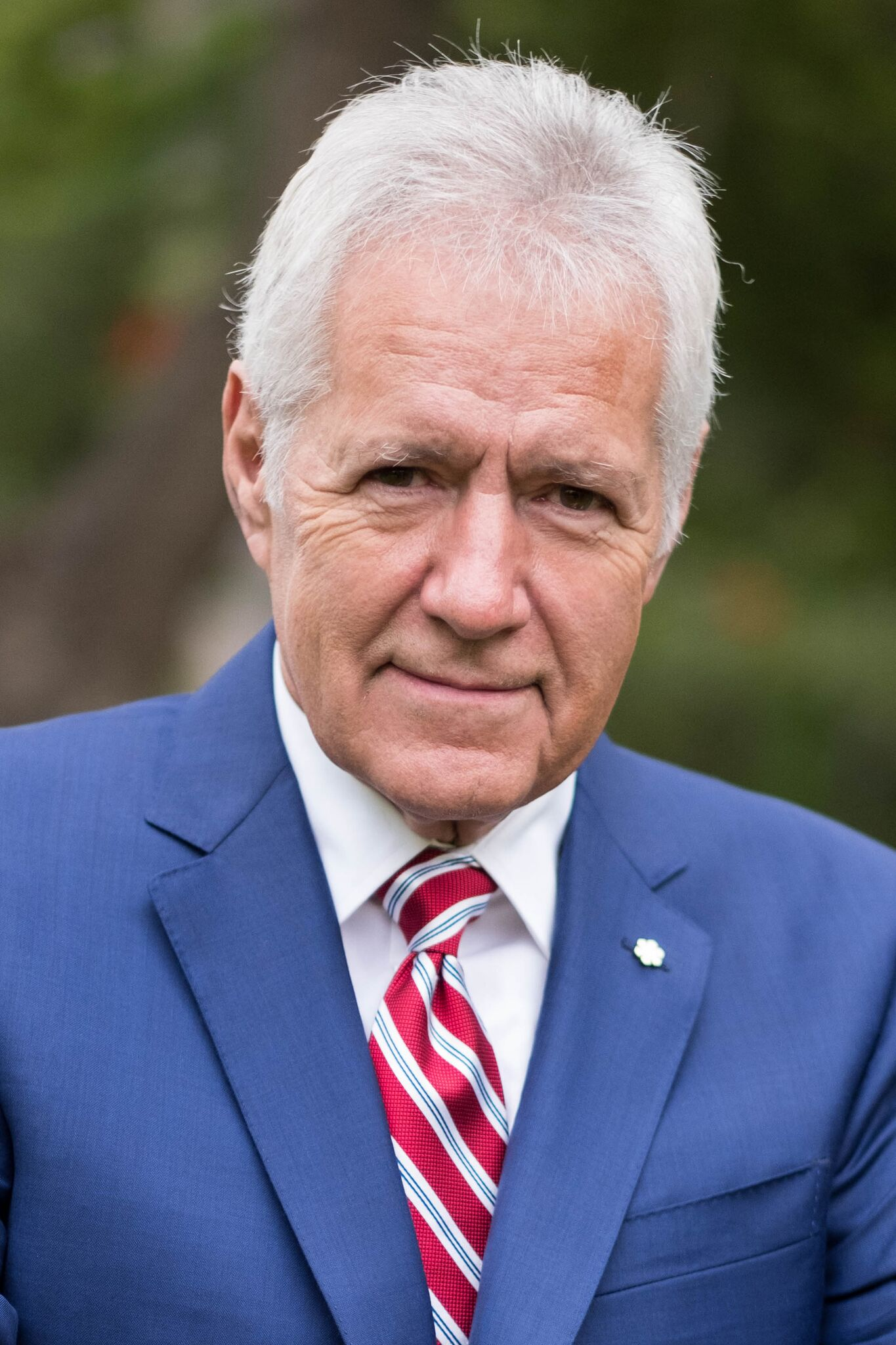 TV personality Alex Trebek attends the 150th anniversary of Canada's Confederation at the Official Residence of Canada | Photo: Getty Images