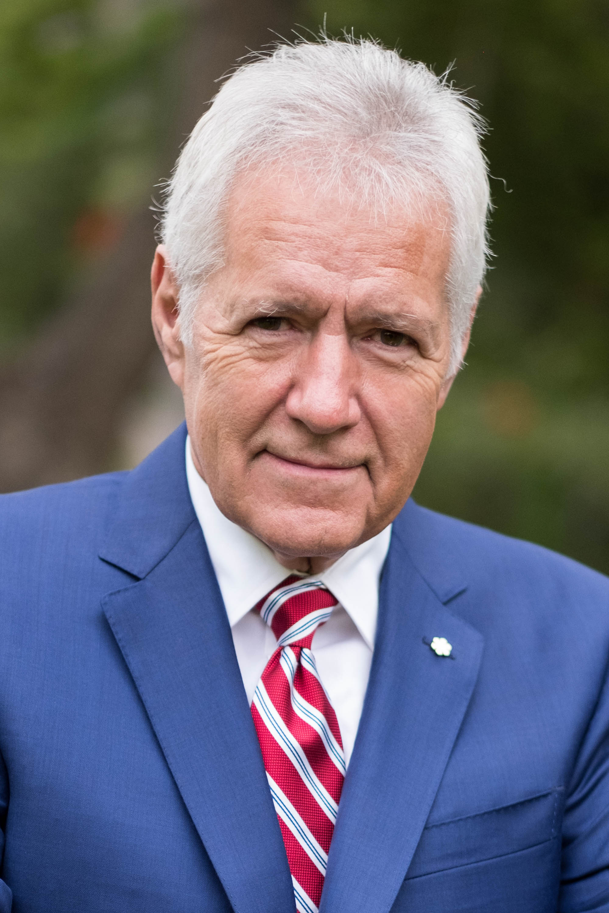 Alex Trebek attends the 150th anniversary of Canada's Confederation on June 30, 2017. | Source: Getty Images