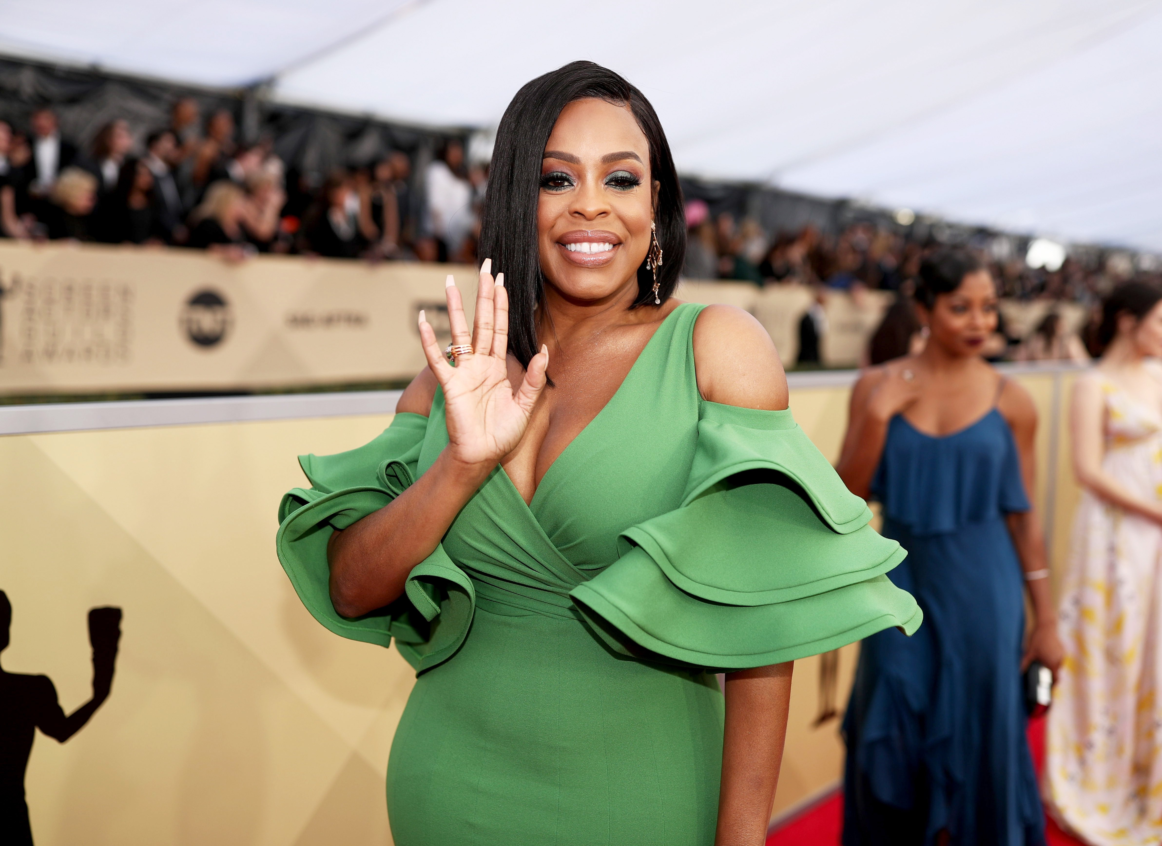 Niecy Nash at the 24th Annual Screen Actors Guild Awards at The Shrine Auditorium on January 21, 2018 in Los Angeles, California.|Source: Getty Images