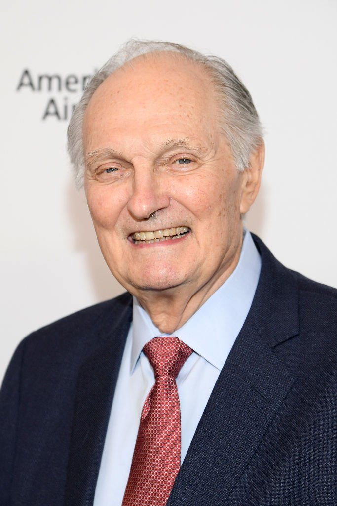"""Alan Alda attends the """"Marriage Story"""" premiere at 57th New York Film Festival on October 04, 2019 
