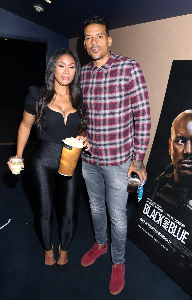 Anansa Sims and Matt Barnes on October 17, 2019 in Hollywood, California | Photo: Getty Images