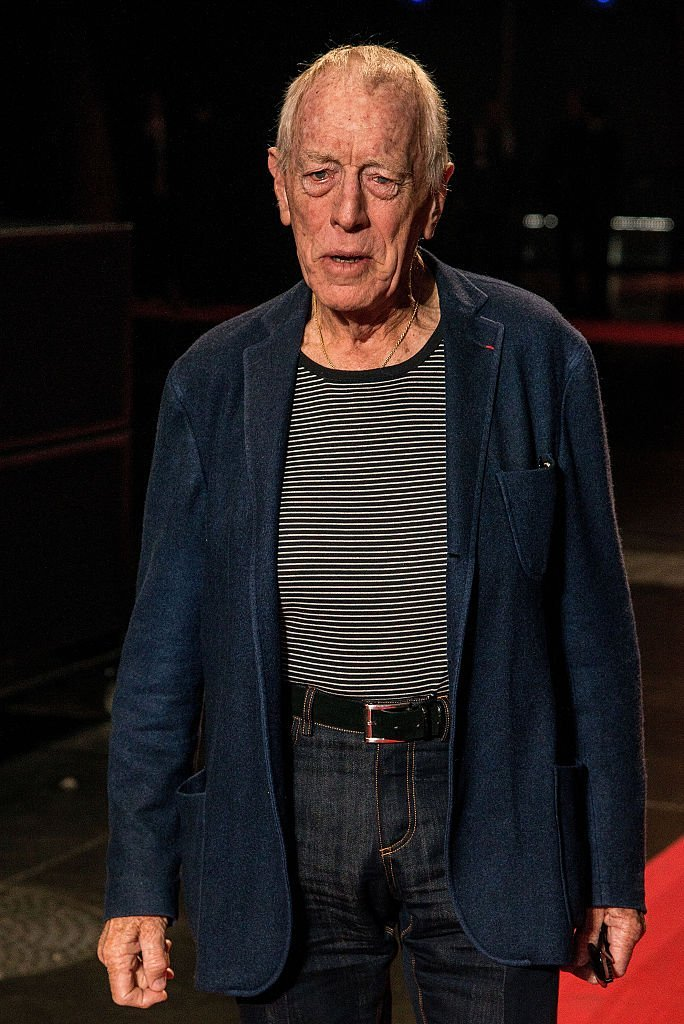 Max von Sydow attends the closing ceremony - 7th Lumiere Film Festival on October 18, 2015 | Photo: Getty Images