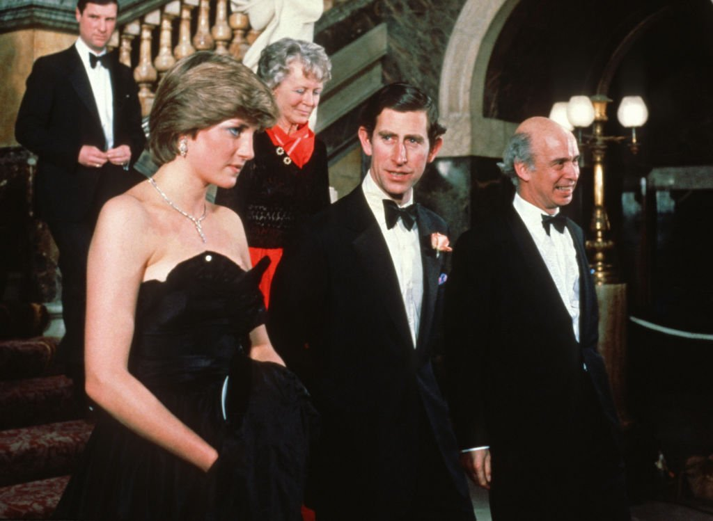 Princess Diana and Prince Charles attended a fundraising concert and reception at Goldsmiths Hall in aid of The Royal Opera House on March 9, 1981 in London, United Kingdom   Photo: Getty Images