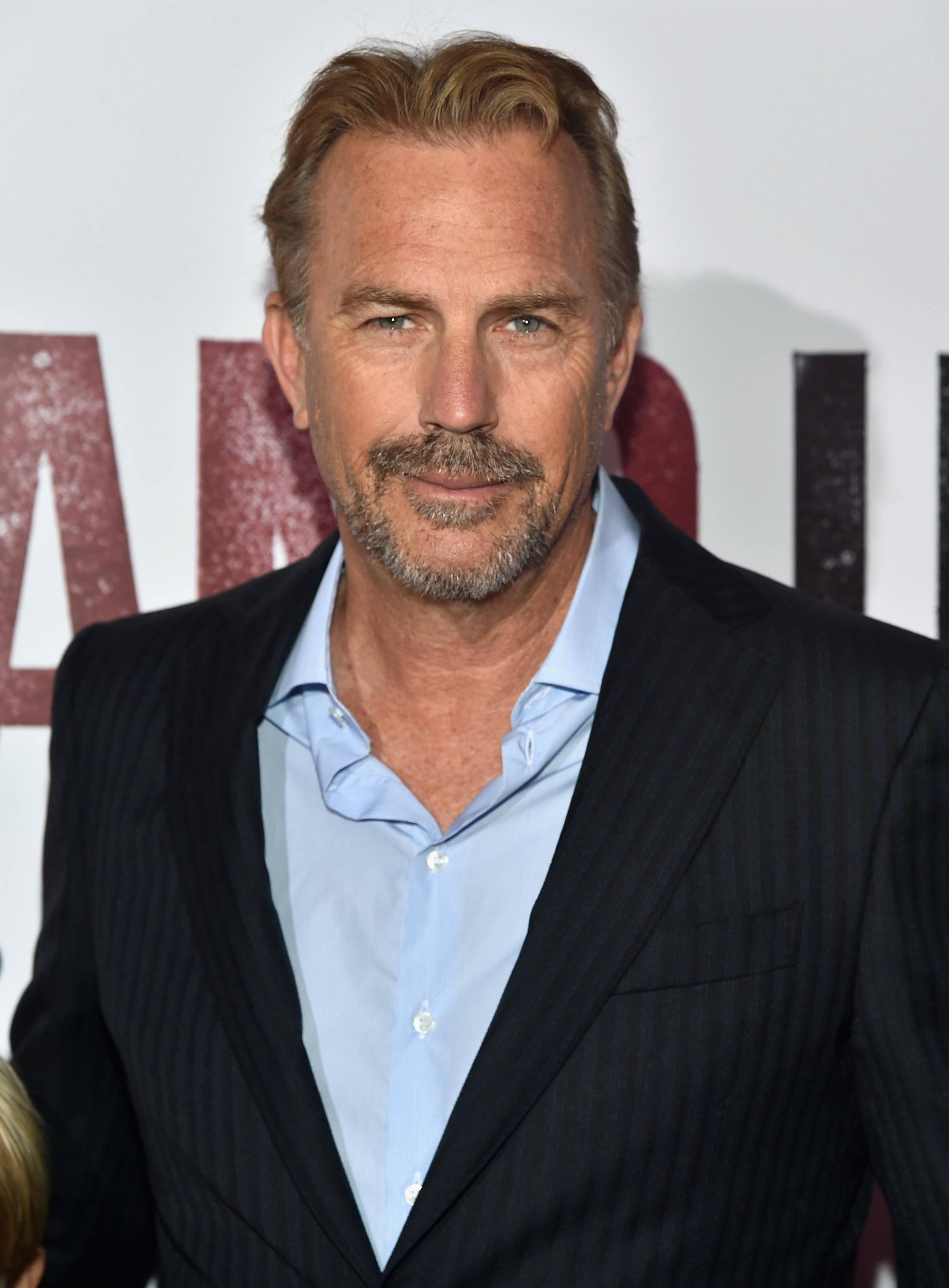 """Actor Kevin Costner attends the world premiere of """"McFarland, USA"""" at The El Capitan Theatre on February 9, 2015 in Hollywood, California.