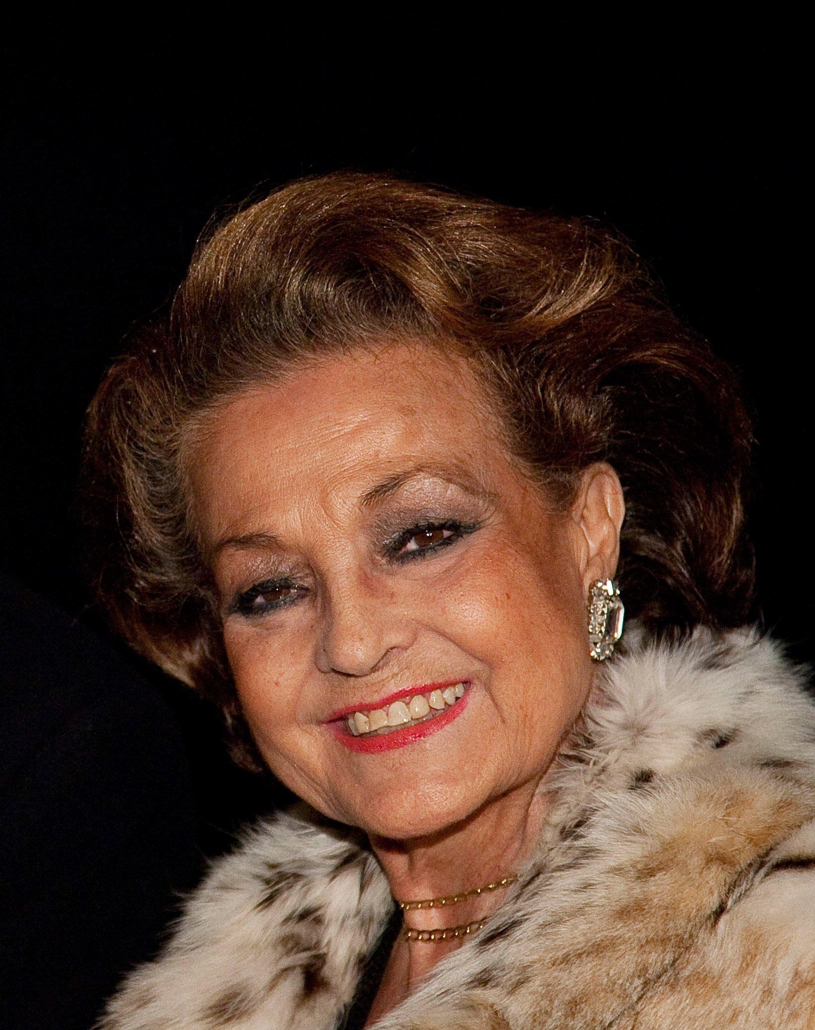 Carmen Sevilla en la Cibeles Fashion Week 2010. || Fuente: Getty Images