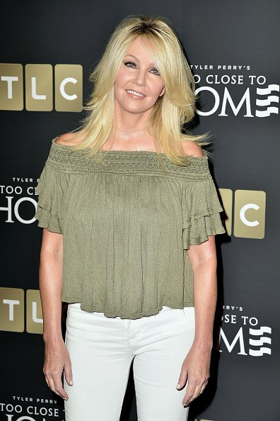 Heather Locklear at The Paley Center for Media on August 16, 2016 in Beverly Hills, California. | Photo: Getty Images