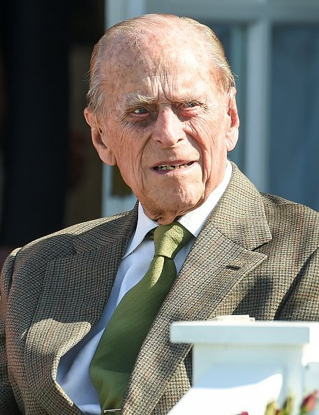 Prince Philip, Duke of Edinburgh at Guards Polo Club on June 24, 2018 in Egham, England | Photo: Getty Images