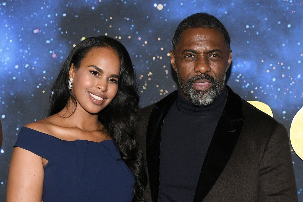 "Sabrina Dhowre Elba (L) and Idris Elba attend the world premiere of ""Cats"" at Alice Tully Hall, Lincoln Center 