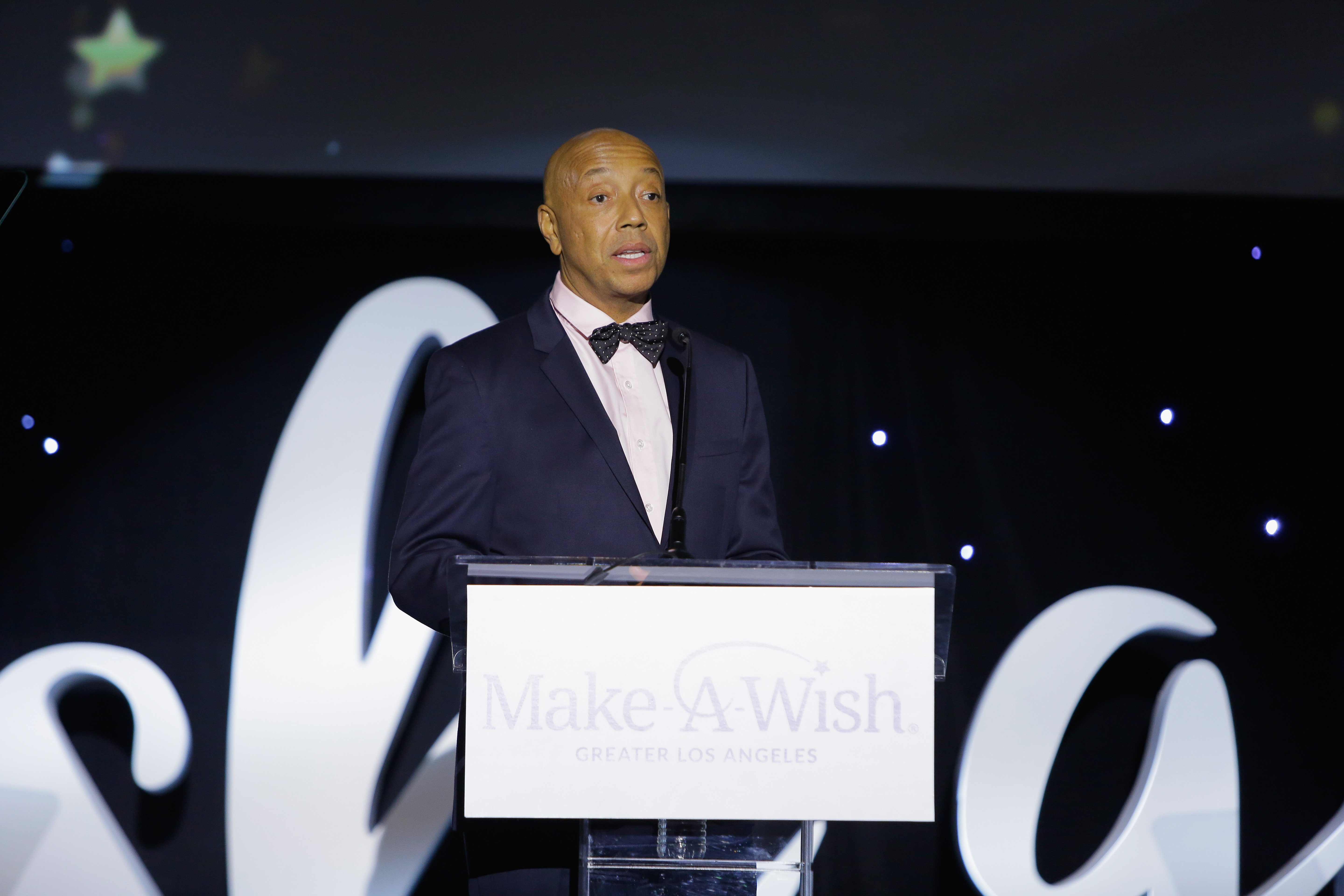 Russell Simmons at the 2017 Make a Wish Gala on Nov. 9, 2017 in California | Photo: Getty Images